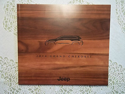 2014 Jeep Grand Cherokee Limited Laredo Overland Summit Srt Literature Brochure!