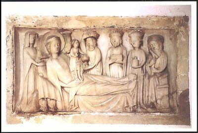 Alabaster  Bas- Relief Of The Adoration Of The Kings