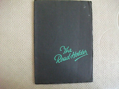 Norton 1935, The Roadholder, original Sales Catalogue, 36 pages, full range,vgc