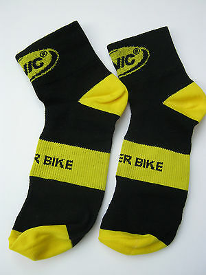 Mavic Cycling Sock, Short, Size 8-10 Mens, Official Licensed Product, Brand New