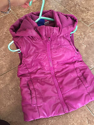 Girls Lupilu Waistcoat Jacket Sleeveless Coat Age 1.5-2-3 years+Free F&F Top