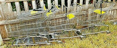 SAN ANTONIO 4 Shopping Carts Retail Store Commercial Grade Baskets pick up only