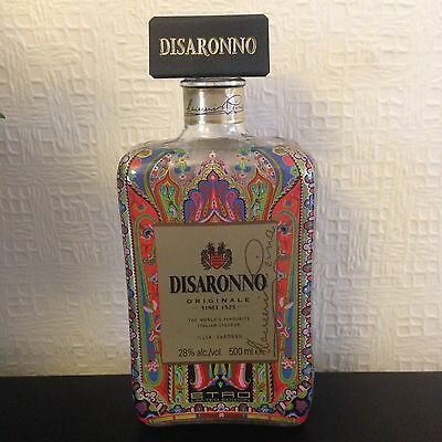 DISARONNO Wears Etro SPECIAL LIMITED EDITION 500ml BOTTLE - LOOKS GREAT! Empty