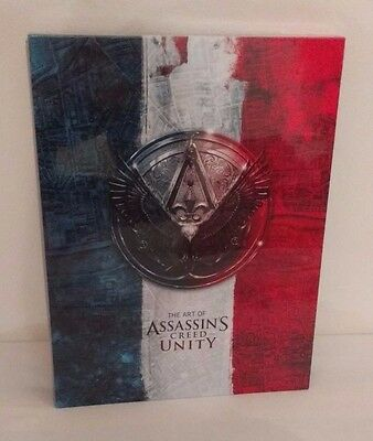 The Art of Assassins Creed Unity Limited Edition Collectors 500 Sealed + Prints