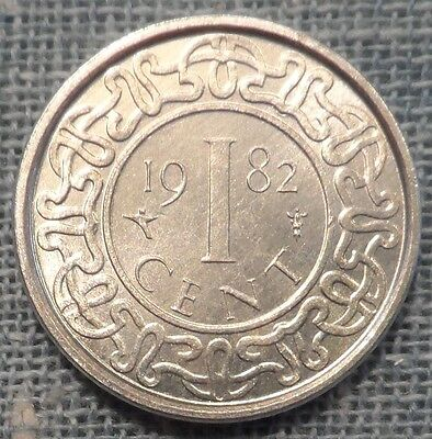 Suriname  1982  1 Cent Foreign Coin   KM#11a