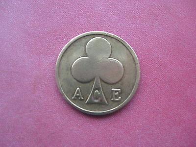 Ace Of Clubs Bikers Cafe London Rockers Coin Token