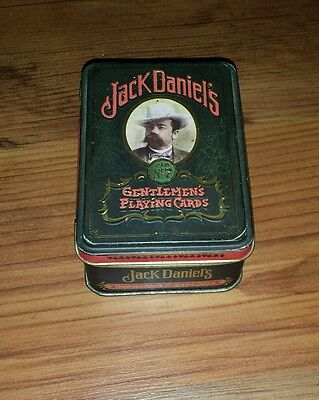 Jack Daniels Playing Cards with Tin