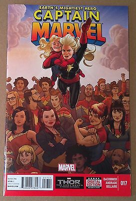CAPTAIN MARVEL (2012) #17 FIRST APPEARANCE KAMALA KHAN Ms MARVEL NM 1ST PRINTING