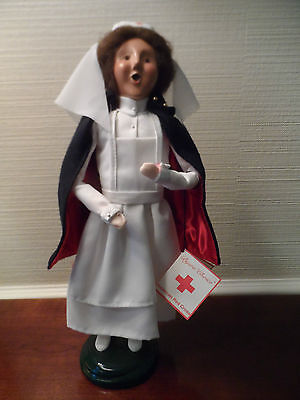 Byers Choice Caroler 1999 American Red Cross Female With Tag & Box