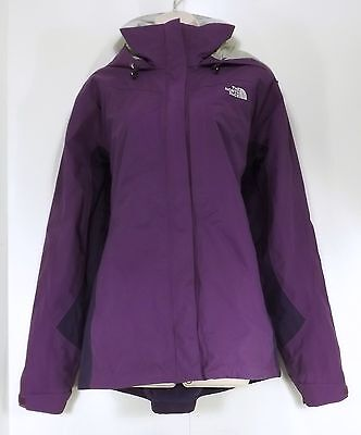 THE NORTH FACE Purple Layered Ladies Ski Snow Jacket size XL Extra Large
