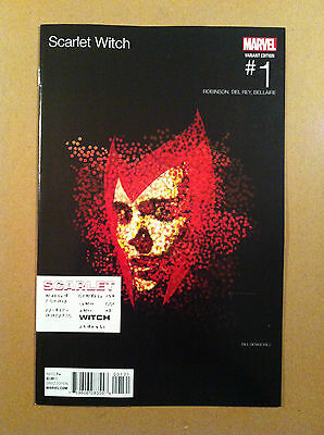Scarlet Witch #1 Bill Sienkiewicz Hip-Hop Variant Cover Eminem Nm 1St Printing