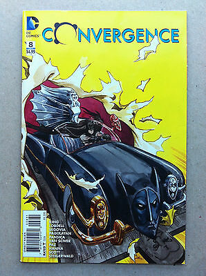 Convergence #8 Jill Thompson 1:25 Variant Cover Nm- First Printing Batmobile