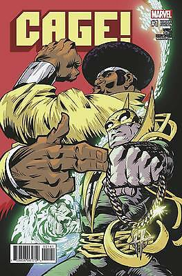 "Cage (2016) #1 Damion Scott ""run The Jewels"" Variant Cover Rtj Nm 1St Printing"