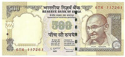 indian 500Rs currency notes