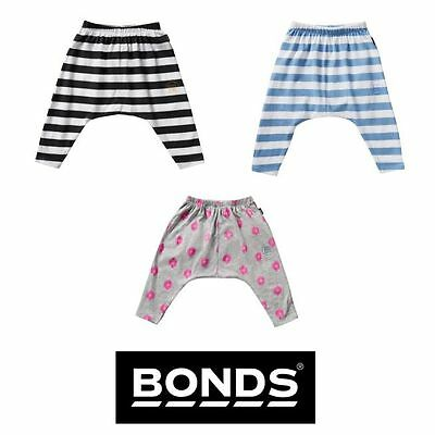 Baby Bonds Boys Girls Slouchies Pants Trackies Trackpants Cotton Pants Casual