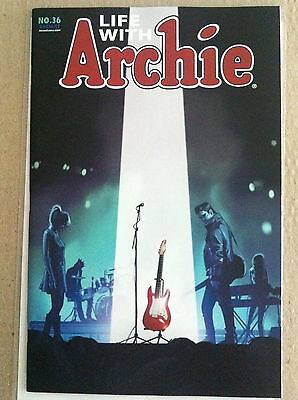 Life With Archie #36 Fiona Staples Cover 1St Print Near Mint 2014 Death Of...