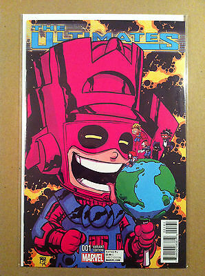 Ultimates (2015) #1 Skottie Young 'baby' Variant Cover Galactus Nm 1St Printing