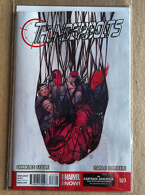 Thunderbolts (2012) #23 Nm 1St Print Charles Soule Carlo Barberi Deadpool Venom