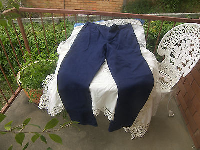 King Gee Navy Cotton Drill Work Pants Size 87R
