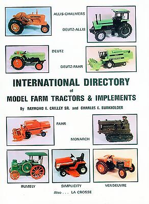 International Directory of Model Farm Tractors & Implements