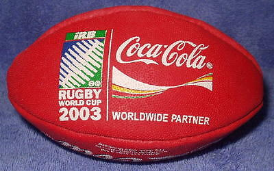 New Mini Football -- Rugby Union World Cup 2003 -- Coca Cola