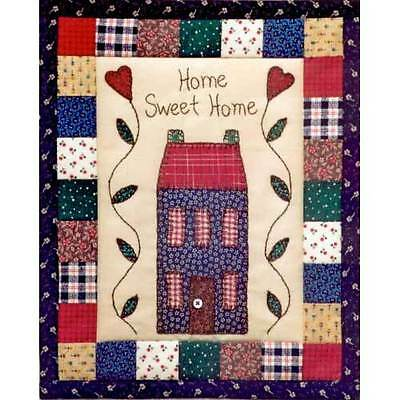 HOME SWEET HOME QUILT QUILTING PATTERN, from Just My Imagination, *NEW*