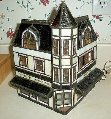 """Hershey's Stained Glass Chocolate Town  USA Collection """"Galleria""""   Hard to Find"""