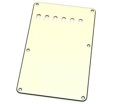 Parchment 3-ply Back Plate/Tremolo Cover Fender Stratocaster/Strat® PG-0556-050