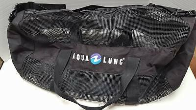 "AQUALUNG Diving Mesh Duffle Bag 30""x15""x15"" Scuba Diving Bag Ships Same DAY"