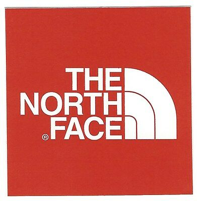 Brand New The North Face Logo Sticker Decal Hiking Skiing Outdoor
