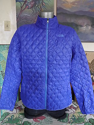 Women's THE NORTH FACE Quilted Insulated WINTER Snow Full Zip Jacket Parka XL