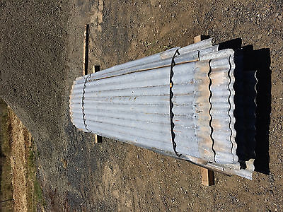 Corrugated roofing/cladding, galvanised iron roofing 35@2.7m