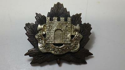 WWII Fort Garry Horse Regiment Cap Badge Canada Canadian Military