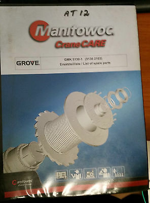 Manitowoc Crane Care GMK 5130-1 (5130 2103) List of Spare Parts Manual