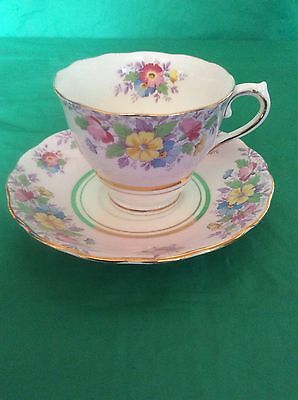 Colclough Genuine Bone China England Cup & Saucer