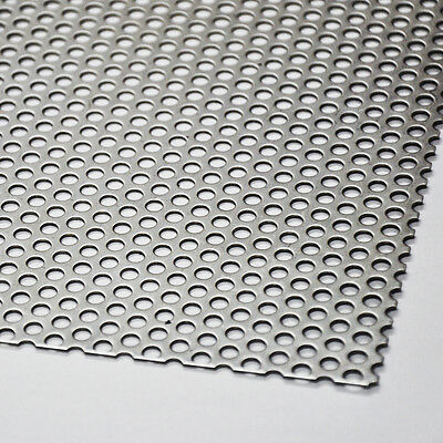 Stainless steel Perforated baking Sheet Rv 5-8 V2A Blech 1,0mm Sheet Blanks