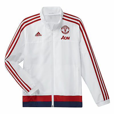 Adidas Performance Jacket Manchester United 2015/16 AC1959 100% Polyester male