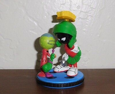 """1997 Warner Bros 3"""" Marvin the Martian Hare-way To The Stars pvc figure"""