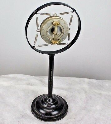 1920's WESTERN ELECTRIC 387W CARBON RADIO BROADCAST MICROPHONE RING MOUNT