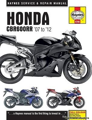 Honda CBR600RR Motorcycle Repair Manual Anon Paperback New Book Free UK Delivery