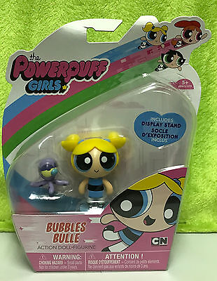 Spin Master The Powerpuff Girls Bubbles Action Doll Figure w/ Octopus - NEW MOC