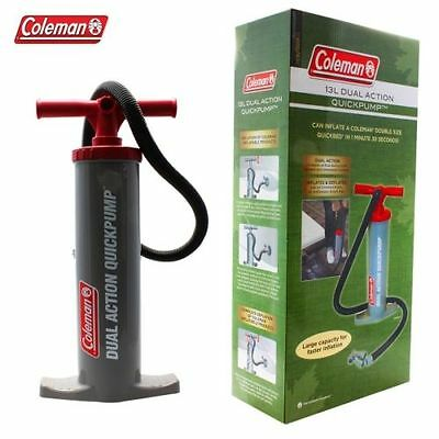 Coleman 13L Dual Action Quckpump Easy double action, push/pull pump