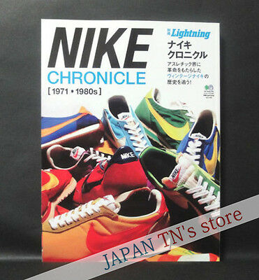 Japan 『 NIKE CHRONICLE 1971-1980s 』 Nike Vintage Collection Book SHOES T-shirt