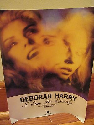 """Deborah Harry - I Can See Clearly Window Cling, 8 1/2"""" x 11"""""""