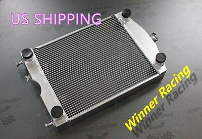 56Mm Aluminum Alloy Radiator Fit For Ford 2N/8N/9N Tractor W/flathead V8 Engine