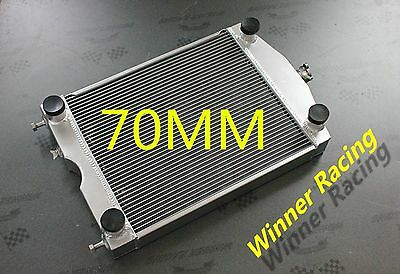 70MM Aluminum radiator Ford 2N/8N/9N tractor w/flathead V8 engine Up to 1000HP