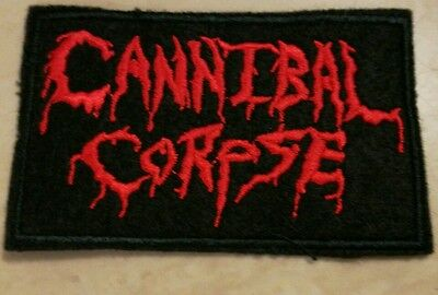 Cannibal Corpse sew iron on embroidered patch