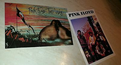 Pink Floyd Lot of two (2) collectible postcards used but never mailed