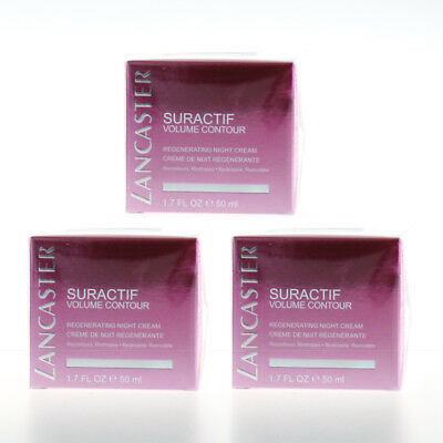 Lancaster Suractif Volume Contour Regenerating Night Creme ★ Cream 50ml  - 3x