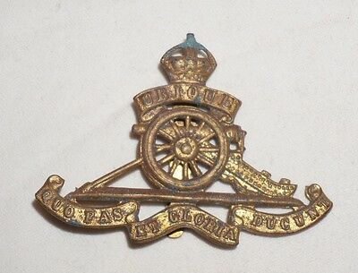 Royal Artillery British Army Cap Badge WWII M0166